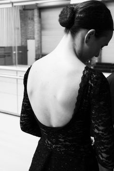 Black lace elegance