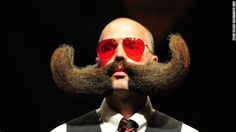 """The World Beard and Moustache Championships were held this weekend in Portland, Oregon. Click through the gallery for bold looks from """"bearders."""""""