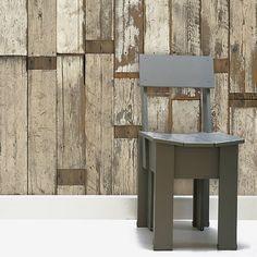 Scrapwood Wallpaper by Piet Hein Eeks   WABI SABI Scandinavia