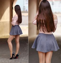 World of Tights Sexy Skirt, Dress Skirt, Skater Skirt, Lace Dress, Great Legs, Beautiful Legs, Hot Outfits, Fall Outfits, Cheap Dresses
