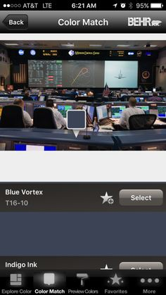 Behr Blue Vortex Star Wars Room, Black Sapphire, Behr, First Home, The Selection, Sims, Indigo, Explore, Colors