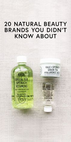 20 natural beauty brands you didn't know about