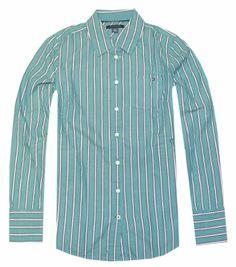 Tommy Hilfiger Women Oxford Long Sleeve Multi Stripe Shirt (S, Green/navy/white) Tommy Hilfiger,http://www.amazon.com/dp/B00I8S5ZD8/ref=cm_sw_r_pi_dp_IwM9sb0SWF63V0H1