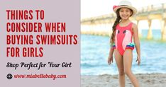Choosing a #swimsuit for your little angel can be a daunting task as there are numerous options available in the #store with a variety of #styles and patterns. are a few things you can consider while choosing a swimsuit for your daughter. Follow them and shop right swimsuits for girl so that she can pull off her look in every pool party she visits. Swimsuits, Bikinis, Swimwear, Pull Off, Girl Online, Girls Shopping, Daughter, Swimming, Angel