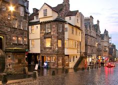 John Knox House, High Street, Edinburgh.  When I was there it was under reconstruction...er, being reformed?  ;)
