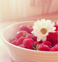 fresh strawberries  ..tumblr.com