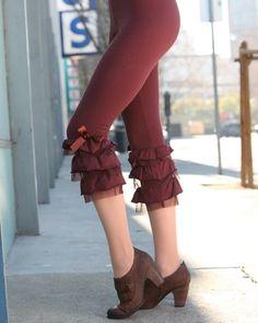 82c2ae6ec9da1 Take a Bow Cabaret Leggings by Effie's Heart Harajuku Fashion, Lolita  Fashion, Everyday Steampunk