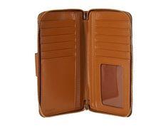 COACH Box Program Leather Universal Pocket Phone Wallet LI/Gold - Zappos.com Free Shipping BOTH Ways