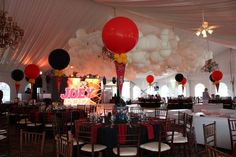 Maryland Terps Themed Graduation - Magnificent Party Rooms