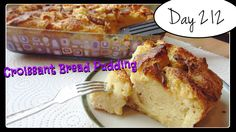 Croissant Bread Pudding Recipe [DAY 212] ★ https://www.youtube.com/watch?v=sgqJo6FI_Mw&index=39&list=PLGRnDhMJALhH_GXl20Kx5lraCMUd2ltq1 ★  I'm trying A NEW RECIPE OF Laura in the Kitchen EVERY DAY and sharing their conversions into the metric system, come and join me on my yummy challenge! :)
