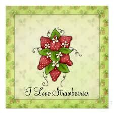 loving strawberries