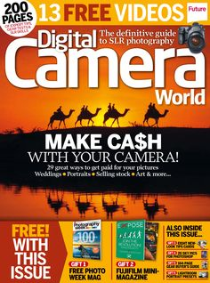 #DigitalCamera World 156. Make #cash with your #camera! 29 great ways to get paid for your #pictures #Weddings. #Portraits. Selling stocks. Art & more...