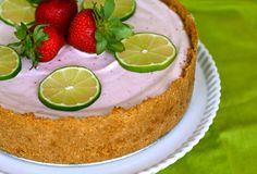 CINCO de MAYO: Strawberry Margarita Pie