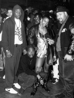 "code-of-thug-life:  At the premiere of ""Juice"" / 1992#20DaysBeforeTupacBirthday"