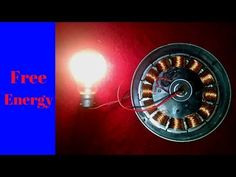 How To Make Free Energy Generator 100 Watt Make With Expiry Solar DC Fan - YouTube