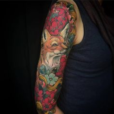 Fancy fox piece.