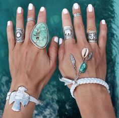 ॐ The amazing @gypsylovinlight wearing our Ohm Filigree Ring ॐ Check out our website for more at www.ohmboho.com ☮ #ohmboho #gypsylovinlight #jewellery #jewelry #ring #tibetan #silver #turquoise #boho #bohemian #hippy #hippie #ethnic #gypsy #native #indie #inspiration #style #fashion