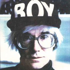 Andy Warhol  More At FOSTERGINGER @ Pinterest