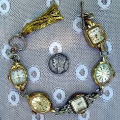 vintage watch bracelet ! Nice heirloom