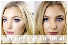 SMOKEY EYE TUTORIAL FOR SMALL EYES + 2 LIP CHOICES | Alexandra Stephens Smokey Eye Tutorial, Choices, About Me Blog, Lips, Videos, Youtube, Youtubers, Video Clip, Youtube Movies