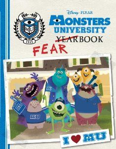 Disney Monsters University Books