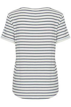 Total Eclipse Stripe T Shirt by Ichi. Eclipse T Shirt, Total Eclipse, Team S, Friend Wedding, Party Wear, Outdoor Gear, Metallic Thread, Tops, Fashion