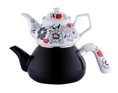 Çaydanlık Takımı - SİMAY / Siyah İnci   yakalagidiyor.com