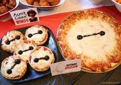 Big Hero 6 Baymax Pizza