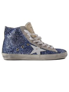 GOLDEN GOOSE | Golden Goose Golden Goose Sneakers Francy White Cocco Star #Shoes #Sneakers #GOLDEN GOOSE