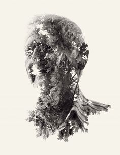 Photographer Christoffer Relander (previously) just finished a new series of photographs titled We Are Nature using double and triple exposures that incredibly are all done in-camera with a Nikon D700. I love the direction his work is taking. See more on Behance.