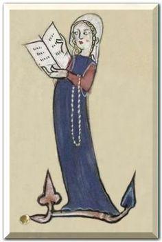 MS Metz 1588? Beginning 14th c. http://scriptoriumdemathilde.over-blog.com/categorie-10138527.html