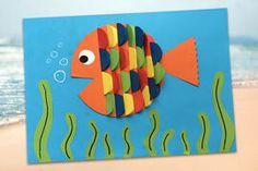 Decoration Originale, Plastic Cutting Board, Outdoor Decor, Aquarium, Colored Paper, Pretty Fish, Mother's Day Diy, Goldfish Bowl, Aquarium Fish Tank