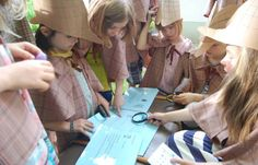 Detektiv und Diebe Spiel für den Kindergeburtstag. Mal eine andere Idee als Blinde Kuh oder Sackhüpfen