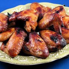 Teriyaki Chicken Wings pressure cooker