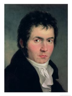 An early portrait of Beethoven.
