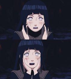 The thought of Naruto will make her blush like a tomato! Hinata Hyuga, Naruhina, Boruto, Naruto Shippuden, Naruto And Hinata, Naruto Girls, Anime Naruto, Manga Anime, Manhwa