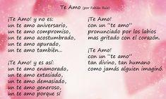 amor espanol   Poemas de Amor para el día del Amor   Amor y Tinta