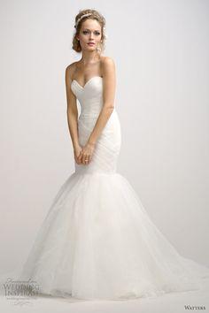Watters Brides Fall 2012 Wedding Dresses   Wedding Inspirasi