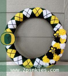 Oregon Ducks wreath