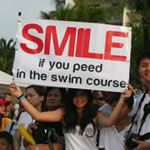 20 Great Triathlon Spectator Signs - LOVE great race signs!!!!!!!