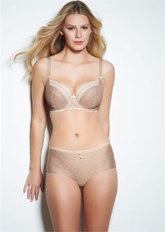 possible bra-  Home  Lingerie  Essentials  Plunge Balcony Bra  Lacey Cafe Latte Plunge Balcony Bra
