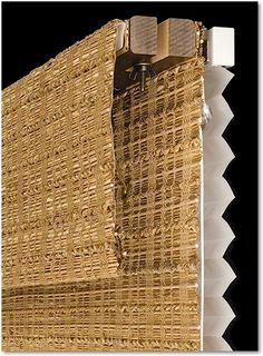 Also available is an independently operated micropleat shade mounted behind your Hunter Douglas Provenance woven wood shade which also adds privacy and light control. Woven Wood Shades, White Crane, Hunter Douglas