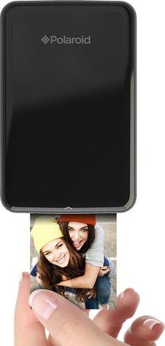 Polaroid - ZIP Mobile Printer - Black - AlternateView11 Zoom
