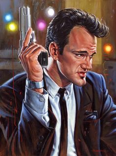 BROTHERTEDD.COM - cinemagorgeous:   A portrait of Quentin Tarantino...