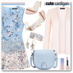 A fashion look from May 2016 by brendariley-1 featuring BCBGMAXAZRIA, New Look, Steve Madden, rag & bone, Mixit, Sephora Collection, cutecardigan и springlayers