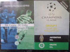 Croatia v Celtic 1998 & Juventus v Celtic 2001  | eBay