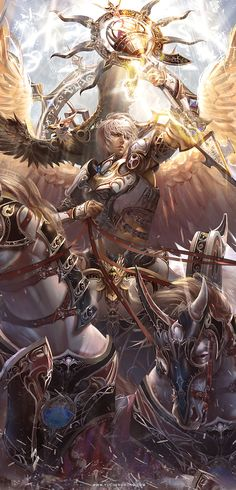 Card game illustrations from Yu Cheng Hong