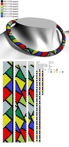 Схемы из он-лайн программы CrochetBeadPaint | 31 фотография