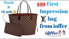 19 Never full, leather Louis Vuitton bag from ioffer     ioffer bag review      worth it 🤔    cbc3ff001d