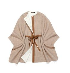 Loro Piana cape - Loro has the absolute best (like 10 ply) cashmere with a signature 'grain' to it...) I need to look now for any sales :) I mean HOW GORGEOUS is this?? I would wear it ALLLLL the time.  Might even make me enjoy the frozen north in the winter? !